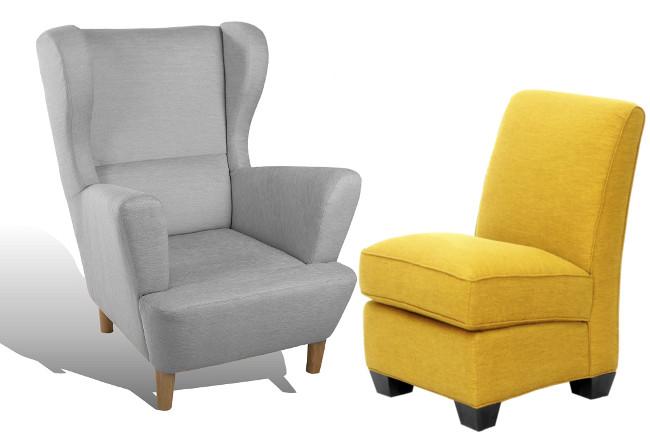 Moderne und bequeme Sessel