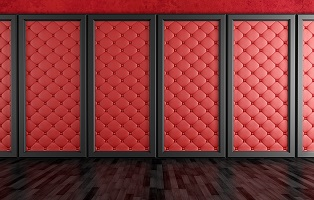 Ściany tapicerowane